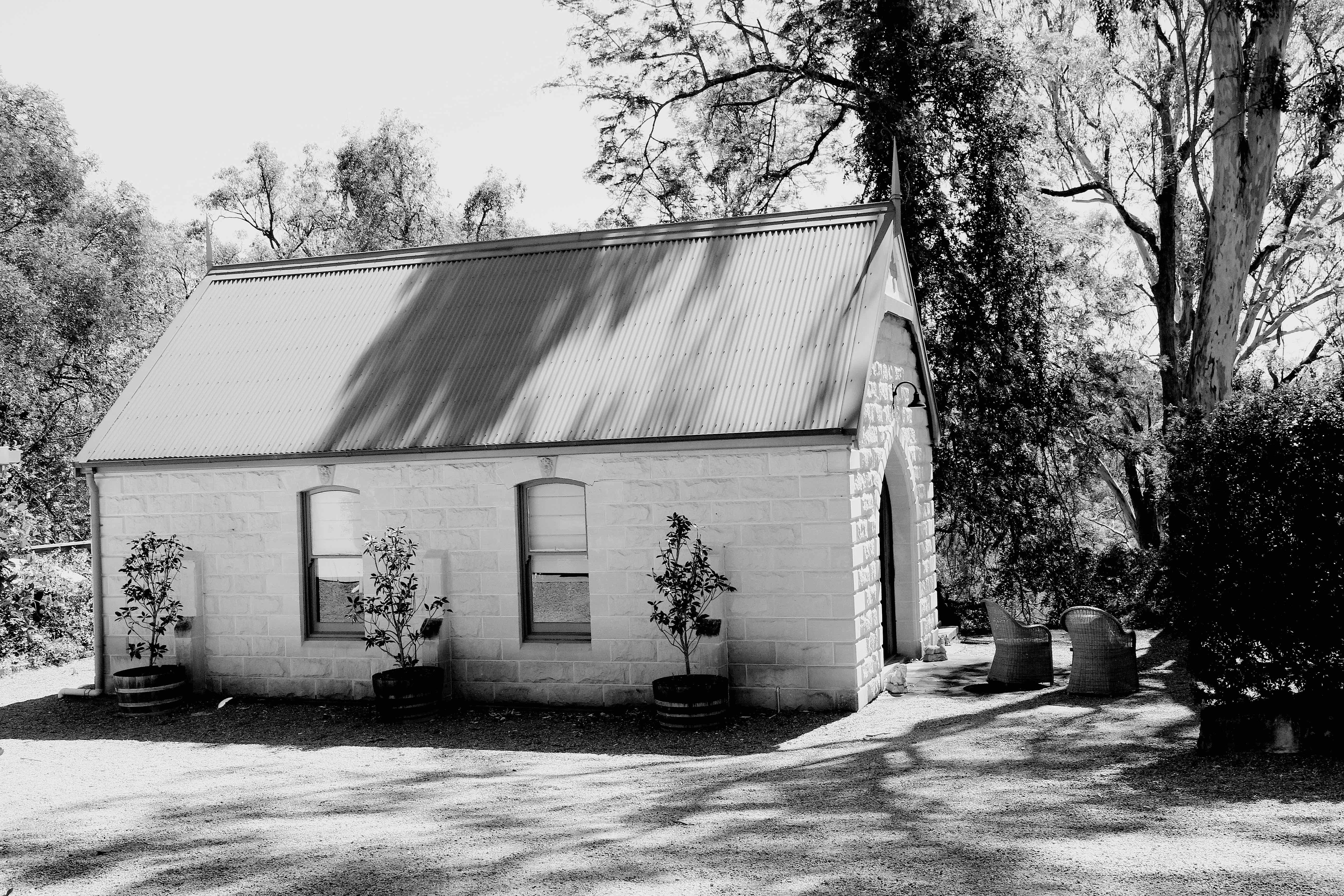 The chapel - outside